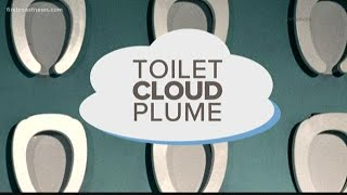 Avoiding spread of germs from the 'toilet cloud plume'
