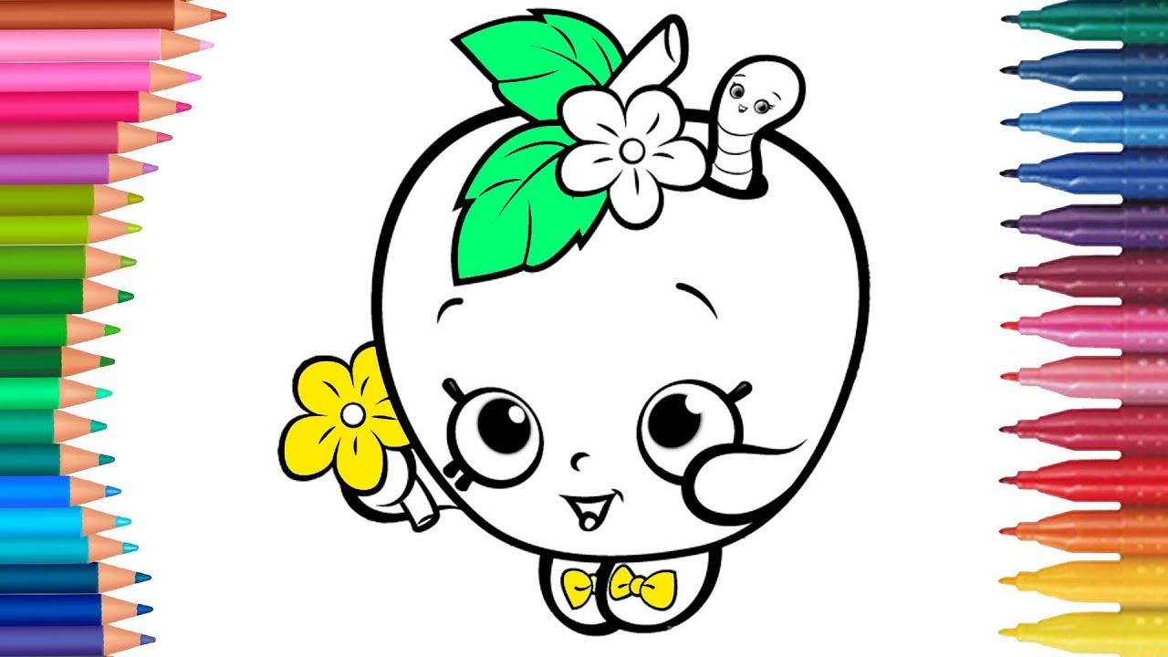 Shopkins Manzana Blossom Paso A Paso Manos Peque 241 As