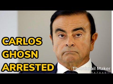 Nissan Chairman Carlos Ghosn £35M FRAUD INVESTIGATION