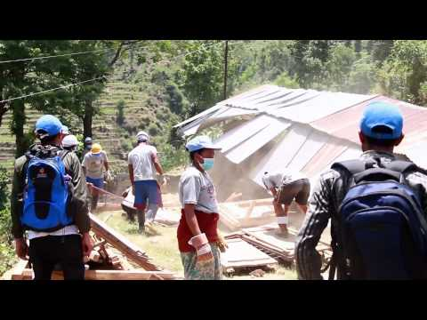 First Steps in Reconstruction of Post-earthquake Nepal