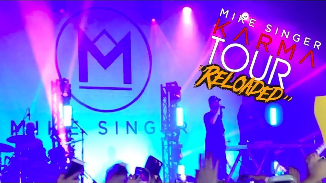Mike Singer Karma Tour Reloaded