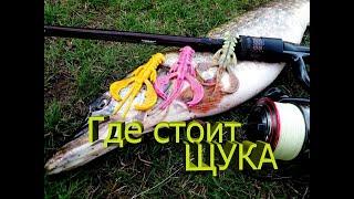 ЩУКА РАКОМ Ловля щуки на джиг Джиг Щука