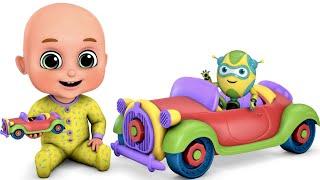 Car Videos EP - 3 | fire trucks, monster trucks chase | Jugnu Kids nursery rhymes and baby songs