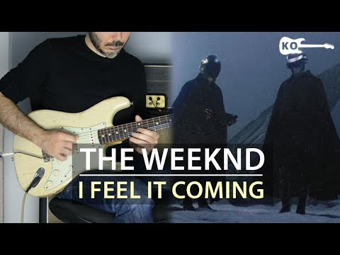 The Weeknd - I Feel It Coming ft. Daft Punk - Electric Guitar Cover by Kfir Ochaion