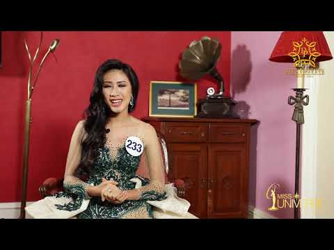 INTERVIEW | Lâm Quế Phi, SBD 233 | Top 45 Miss Universe Vietnam