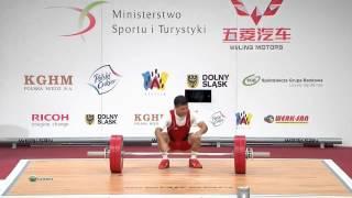 RUIZ GASSO Lazaro Maykel 3s 126 kg cat. 56 World Weightlifting Championship 2013