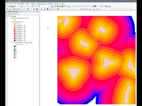 ArcGIS 10.2 - Buffer raster layer using Euclidean Distance