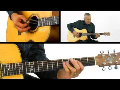Tommy Emmanuel Guitar Lesson - #20 Barre Chord - Fingerstyle Milestones