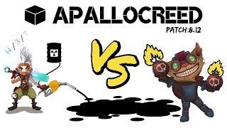 Apallocreed | Ekko vs Ziggs mid Ranked Patch 8.12