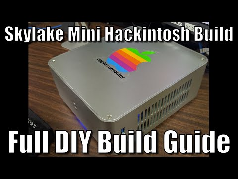 Skylake Mini Hackintosh with El Capitan - FULL DIY Build Guide