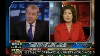 Fox Business: ObamaCare may lead to Major Companies Dropping Insurance Coverage