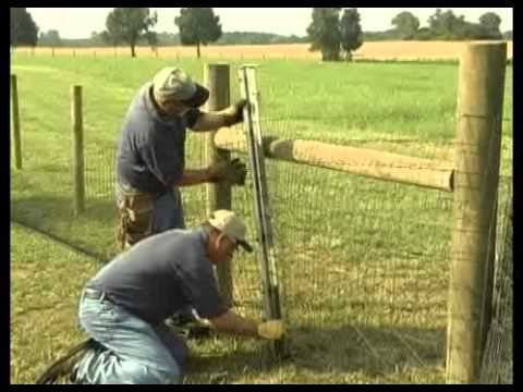Bekaert 2x4 Horse Fence Youtube