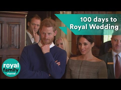 100 day countdown to Harry and Meghan's royal wedding