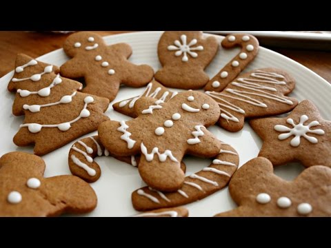 Christmas Gingerbread Men Cookies | sweetco0kiepie