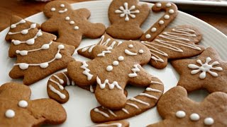 Christmas Gingerbread Men Cookies  sweetco0kiepie