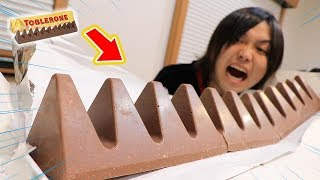 How long does it take to eat up 4.5kg of chocolate?