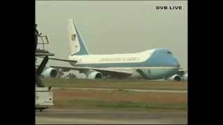 U.S President Obama arrival in Burma - DVB Live