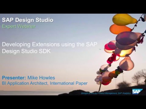 SAP Design Studio - Developing Extensions Using the SDK