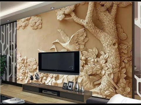 60 modern wallpaper designs –colorful designer wallpaper (AS Royal Decor) - YouTube