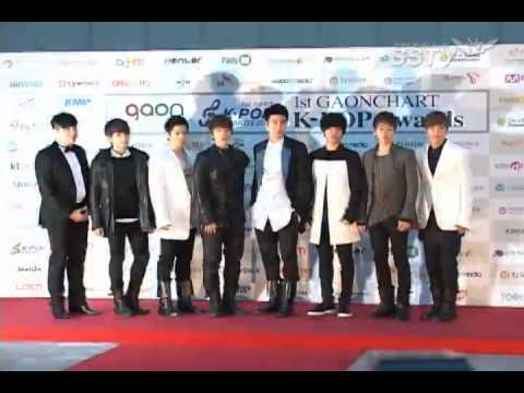 120222 Gaon Chart Awards Red Carpet - Super Junior SSTV