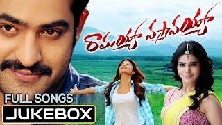 Listen & enjoy ramayya vasthavayya full songs jukebox. audio available on itunes - https://itunes.apple.com/in/album/ramayya-vasthavayya-original/id923051997...