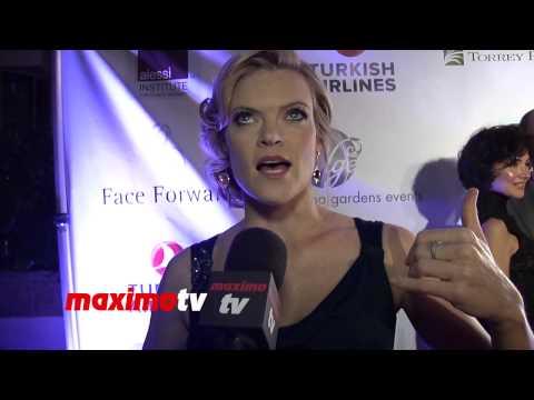 "Missi Pyle Interview 4th Annual Face Forward LA Gala ""A Gatsby Affair"" Red Carpet"