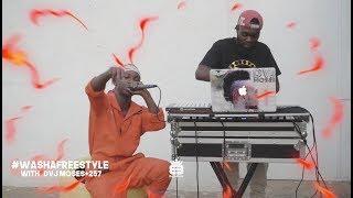 KIRIKOU AKILI - WASHA #FREESTYLE With DVJ MOSES