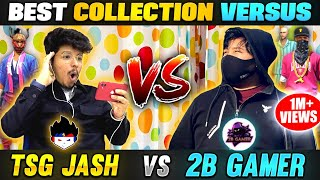TSG Jash  Vs 2B Gamer Funniest Collection Versus with Richest Player Of Nepal- Garena Free Fire