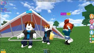 (Roblox) - Noobs try to make a dance video but failed
