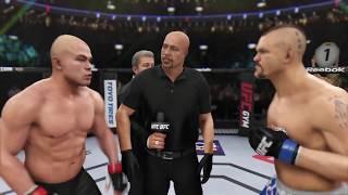 Tito Ortiz vs. Chuck Liddell (EA sports UFC 3) - CPU vs. CPU