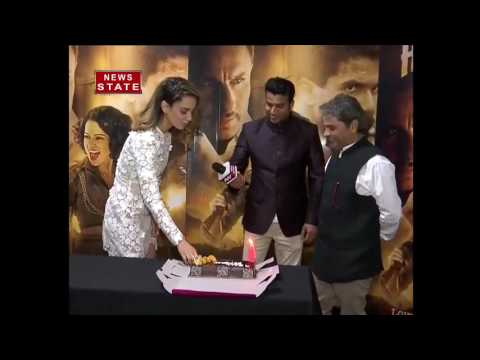 Rangoon Actress Kangna Ranaut Wishes News Nation for completing its 4 Year