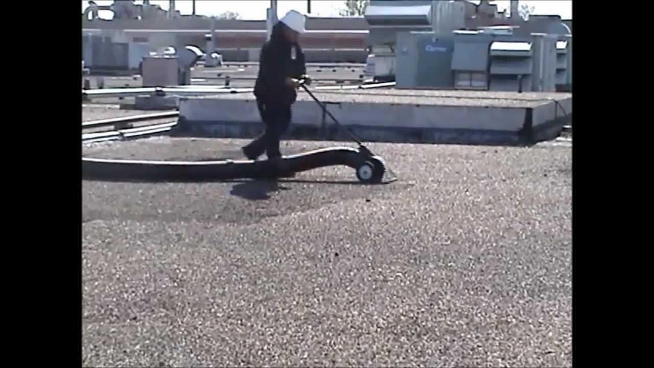 Sunbelt Vacuum Service Roof Vacuuming Pea Gravel Removal