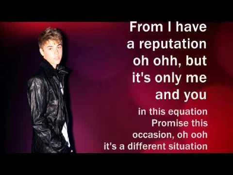 Justin Bieber - Take You (Lyrics)