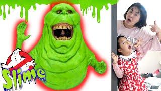 Kids Haunted House Slimer Ghost Busters 고스트 버스터즈 슬라임 액체괴물 놀이 Littlejoy