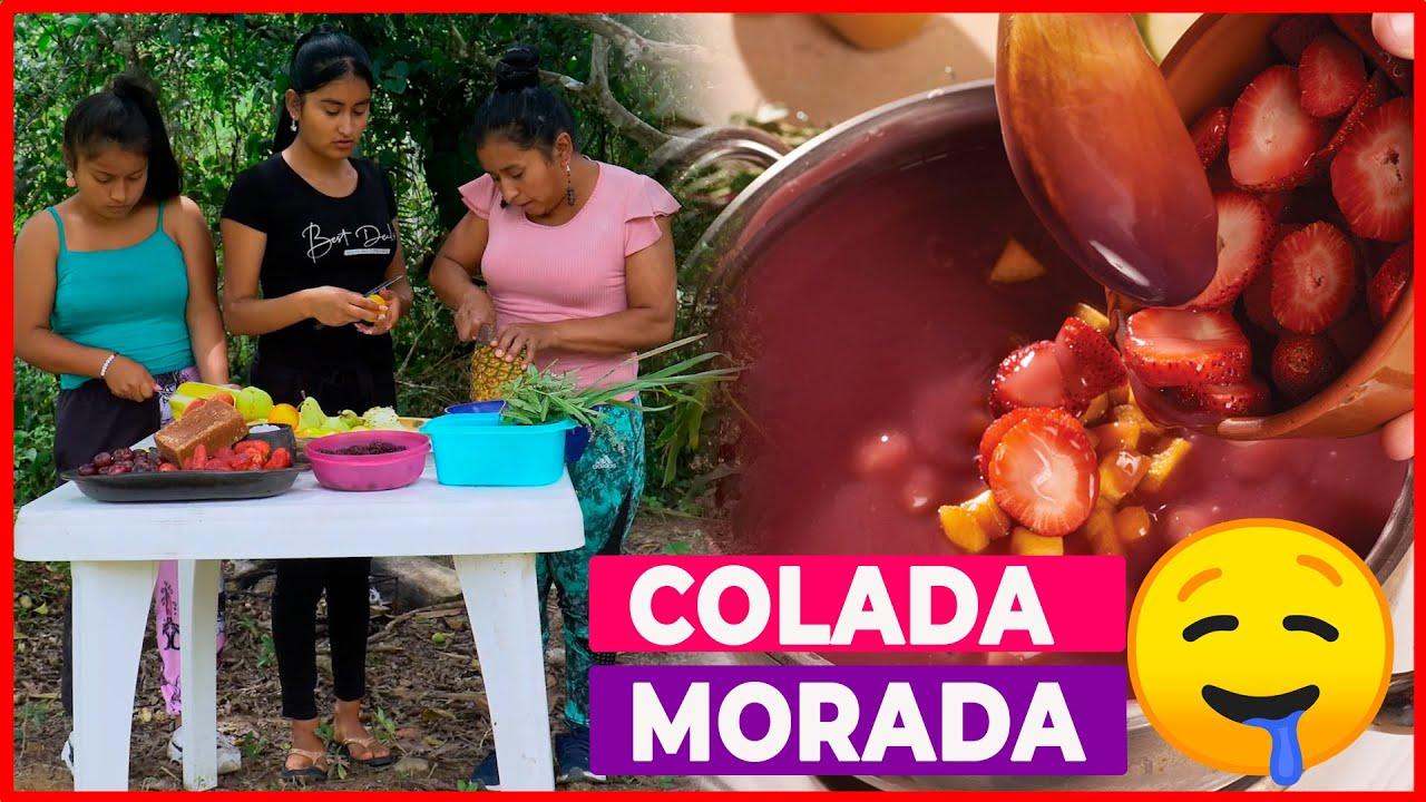 Download Colada Morada al Estilo de Doña Viky