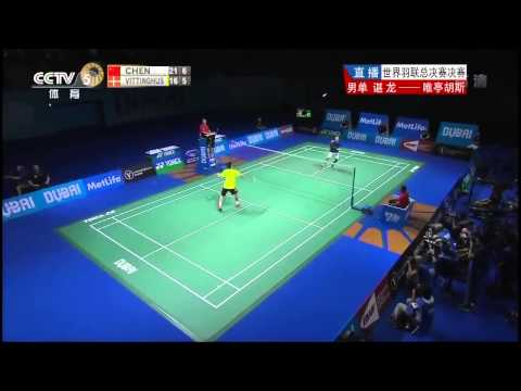 Chen Long vs Hans Kristian Vittinghus | HD Final 2014 World Superseries Finals