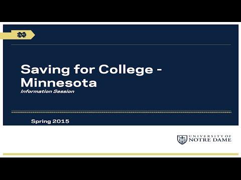 University of Notre Dame Saving for College Program: Minnesota Webinar
