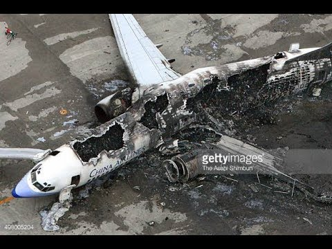 Commercial plane crashes during the past five years