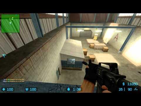 Counter Strike Source De_nuke 4vs4 Danish