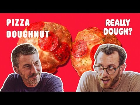 Donut Pizza: Pizza or Pastry?    Really Dough?