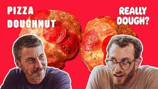 donut pizza pizza or pastry really dough