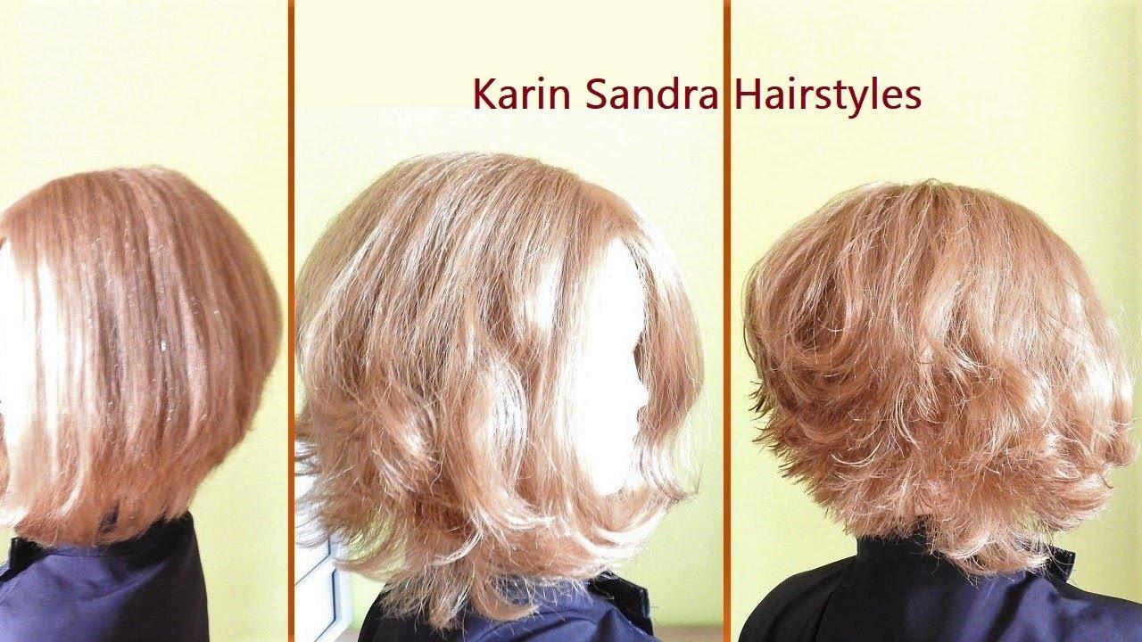 A Line Bob Haircut Tutorial Step By Step How To Cut A Layered Bob