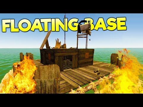 TAKING DOWN A FLOATING PIRATE BASE! Epic Loot + Houseboat Building - Landless Early Access Gameplay