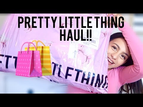 PRETTY LITTLE THING TRY ON HAUL!! SARYNA GARCIA