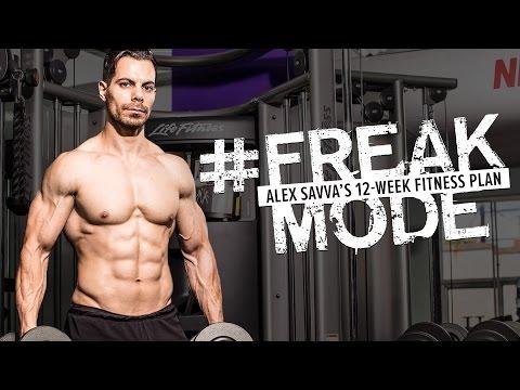 #FREAKMODE Alex Savva's 12-Week Fitness Plan | Promo