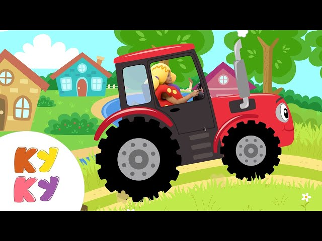 ТРАКТОРИСТ - Кукутики - Новинка мультик песенка для детей про трактор