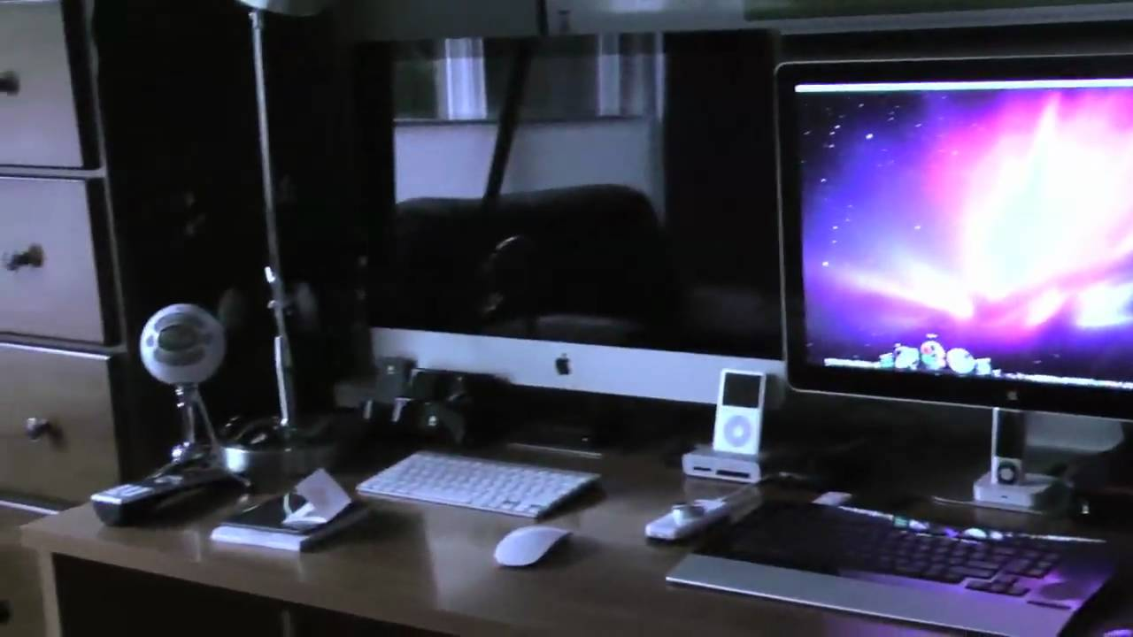 apple imac 27 magic mouse and apple wireless keyboard unboxing youtube. Black Bedroom Furniture Sets. Home Design Ideas