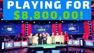 Who Are the 2018 WSOP Final Nine Players?