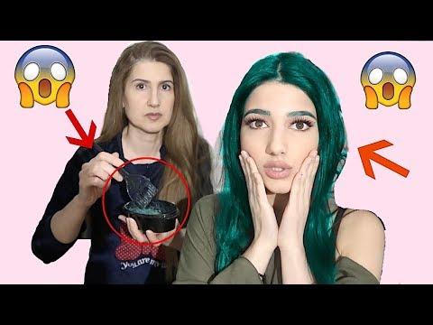 ماما صبغتلي شعري لأول مرة | صدمة!!!!