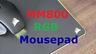 Corsair MM800 Polaris RGB Gaming Mouse Pad Review
